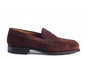 Berwick 9628 Brown Suede Loafer