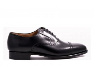 Carlos Santos 8213 Black Oxford