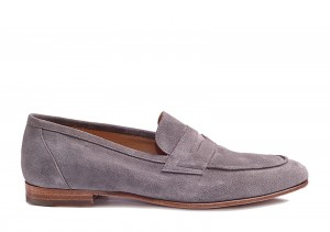 Carlos Santos 9176 Grey Loafer